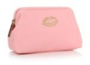 Light pink Lips Make Up Bag.