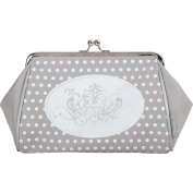 Mathilde M - kisslock Toiletry Bag Cosmetic Case