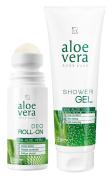 NB24 Shipping Aloe Vera Body Care Kit (20632) Shower Gel + Deo in Set