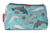 Selina-Jayne Dolphins Limited Edition Designer Cosmetic Bag