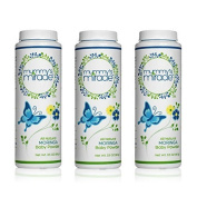 All Natural Mummy's Miracle Moringa Baby Powder Cornstarch 100ml - Pack of 3