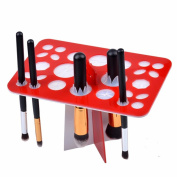 NatureBeauty Acrylic Makeup Brushes Dryer Organiser Tree Holder Hanger Stand Storage Eyeshadow Cosmetic Drying Rack Shelf