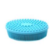 Silicone Bath Brush Soft Shampoo Head Scalp Body Massager