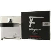 F By Ferragamo Pour Homme Black By Salvatore Ferragamo For Men Edt Spray 50ml