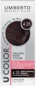 UMBERTO BEVERLY HILLS U Colour Hair Colour Kit 4.35 DARK CHESTNUT BROWN