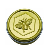 Honey House Naturals Lip Butter Tin, Lemon Lip Butter
