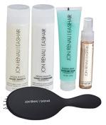 Jon Renau Human Hair Full 5 Pc. Kit, Shampoo, Conditioner, Blow Dry Balm, Smooth Treatment, Paddle Brush