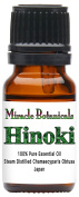 Miracle Botanicals Hinoki Essential Oil - 100% Pure Chamaecyparis Obtuse - 10ml or 30ml Sizes - Therapeutic Grade - 10ml
