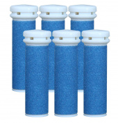 Replacement Refill Rollers for Emjoi Micro-pedi (Extra Coarse) - Pack of 6
