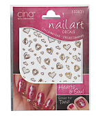 Hearts & Soul Exotica Nail Art Decals