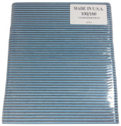 Black Cushion Salon Boards 100/180 Blue Centre Nail File