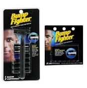 Bump Fighter Refill Razor w/ 2 Cartridges + Bump Fighter Refill Cartridge Blades - 5 ea. + Makeup Blender
