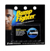 Bump Fighter Refill Cartridge Blades for Men - 5 ea. + Makeup Blender