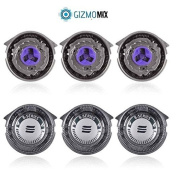 GizmomixTM® Norelco Compatible Replacement Shaver Heads
