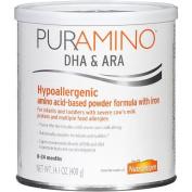 PurAmino DHA/ARA Hypo-Allergenic Powder Formula, Ages 0-24 Months,420ml Per Can