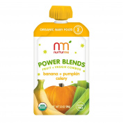 NurturMe Power Blend With Fruit & Veggie Combo, Banana, Pumpkin, Celery, 100ml
