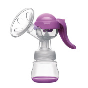 Babyhome Manual Comfort Breast Pump With Breastfeeding Nipple, BPA Free