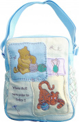 Disney Classic Winnie the Pooh Mini Nappy Bag, Where shall we wonder to today.
