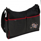 Fashionable Messenger Nappy Bag