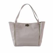 Rosie Pope Nappy Bag, Sloane Tote, Grey/White