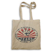 It Took Me 69 Years To Look This Good Iron Fist Tote bag mm3r