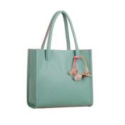 Women's Handbag , Xjp Fashionable Leather Single Shoulder Bag Tote Bag Green