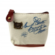 Xjp Retro Women's Wallet Canvas Purse Coin Bag Card Case Handbag Gifts