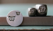 Brand New Supply Guy 3mm and 5mm Butterfly 2 Pack Metal Punch Design Stamp Set CH-145146