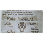 Sculpture House ROMA Plastilina, White, No. 2, Medium, Case