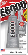 E6000 231020 Adhesive with Precision Tips, 30ml