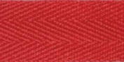 Products From Abroad 107-25-08 Cotton Twill Tape, 1-Yard x 55-Yard, Red
