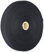 Products From Abroad 107-25-14 Cotton Twill Tape, 1-Yard x 55-Yard, Black