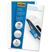 FEL52059 - Fellowes Glossy Pouches - Business Card, 7 mil, 100 pack