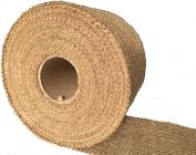 Burlapper 10cm x 30 Yards Jute Burlap Ribbon Roll, 350ml Decorator Fabric