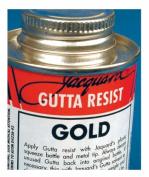 Gutta Resist Jacquard 240ml Gold