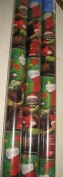 4 Rolls of Teenage Mutant Ninja Turtles Christmas Wrapping Paper with 24 gift bows