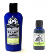 Col Ichabod Conk Southwestern Sun Beard Wash & Beard Oil Combo Pack w/Comb