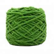 Set of 3 Soft Handmade Gift Crochet Knitted Scarf Kit Cotton Yarns DIY Supplies for Beginners, #04
