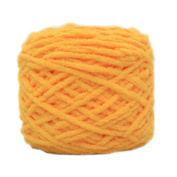 Set of 3 Soft Handmade Gift Crochet Knitted Scarf Kit Cotton Yarns DIY Supplies for Beginners, #02