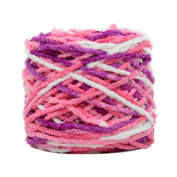 Set of 3 Soft Handmade Gift Crochet Knitted Scarf Kit Cotton Yarns DIY Supplies for Beginners, #01
