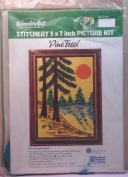 Pine Trees Embroidery Kit No 5114