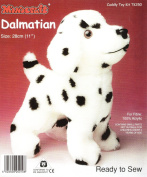 Dempsey Designs Minicraft Kit Ready-to-sew 28cm Dalmation Puppy