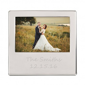 Personalised Silver Picture Frame