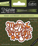 Die's ire Merry and Bright Steel Die
