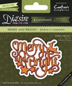Die's ire Merry and Bright Steel Die