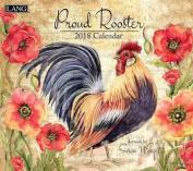 Proud Rooster 2018 Wall Calendar