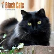 2018 Black Cats Wall Calendar