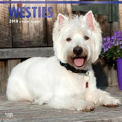 2018 West Highland White Terriers Wall Calendar