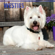 2018 West Highland White Terriers Wall Calendar