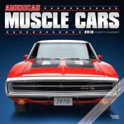 2018 American Muscle Cars Wall Calendar